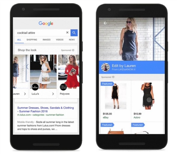 Google Shop the Look